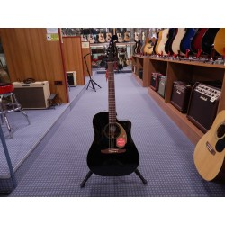 Fender Redondo Player jetty black chitarra acustica elettrificata