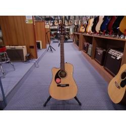 Fender CD-60sce lh nat chitarra acustica elettrica mancina