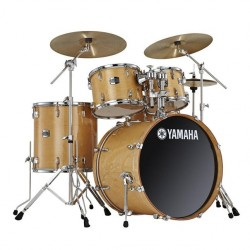 "Yamaha JSBP0F5NW7 Birch Stage Custom 20"" Drum Kit in Natural Wood"