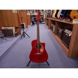 Fender Redondo Player Color Candy Apple Red