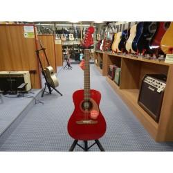 Fender Malibu Plyr Cndy Apple Red WN