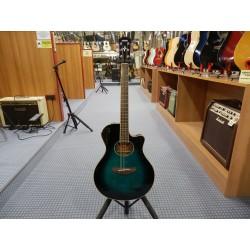 Yamaha APX600 OBB Chitarra Acustica colore oriental blue burst