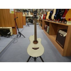 Yamaha APX600VW chitarra ccustica colore bianco