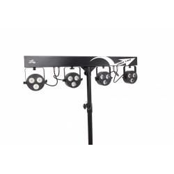 Sagitter Led Kit 4 Projectors 3x10w Led Rgbw/f
