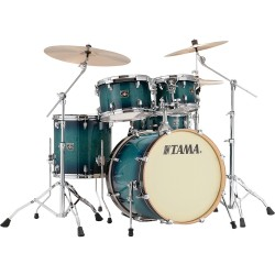 Tama CL50RS-BAB shell kit finitura Blue Lacquer Burst