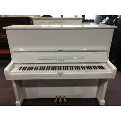 Kawai KU2 pianoforte verticale bianco usato