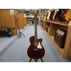 Art & Lutherie Legacy Tennessee Red CW QIT Chitarra Acustica Concert Hall Elettrificata Spalla Mancante