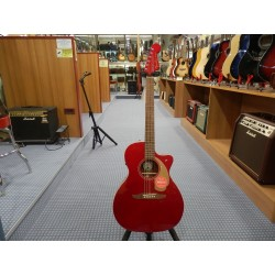 Fender Newporter Player Electro Acoustic Candy Apple Red