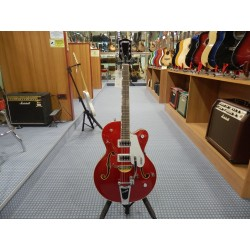 Fender G5420T Electromatic Hollow Body Single-Cut with Bigsby Rosewood Fingerboard Candy Apple Red