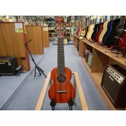 Gretsch G9126 Guitar-Ukulele with Gig Bag Ovangkol Fingerboard Honey Mahogany Stain