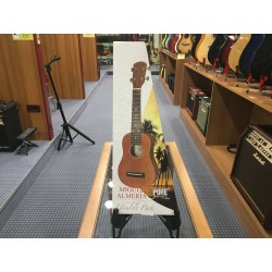 GewaPure ukulele almeria player pack nero satin