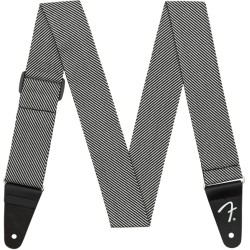 Fender Modern Tweed Strap White/Black 2""