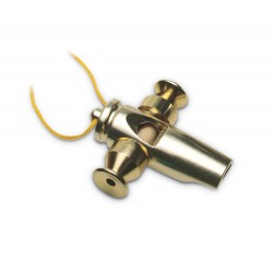 Latin Percussion Fischietto Samba Tri-Tone Gold