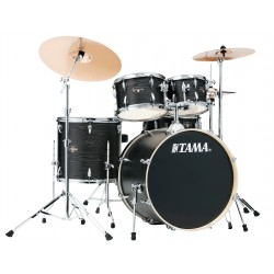 Tama IE52KH6W-BOW Batteria completa finitura Black Oak Wrap