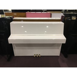 Furstein Pianoforte verticale bianco usato