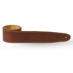 """Taylor Leather strap med brown suede back 2.5"""""""