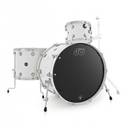Drum Workshop shell set white ice escluso di Hardware e Piatti