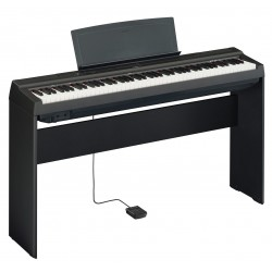 Yamaha KIT P125B black digital piano + L125B supporto