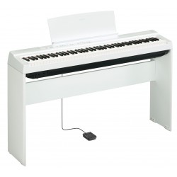 Yamaha KIT P125WH white digital piano + L125WH supporto