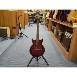 Ibanez AM53-SRF sunburst red flat chitarra semiacustica