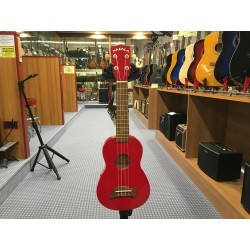 Makala MK-SD/CAR Ukulele Soprano Red + Bags
