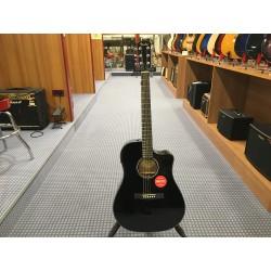 Fender CD60SCE Dreadnought Black