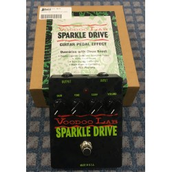 Voodoo lab Pedale EFX sparkle drive usato