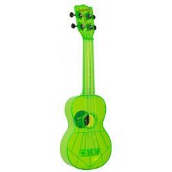 Kala Waterman KA-SWF-GN ukulele soprano + bag