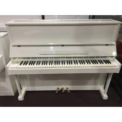 Strausser Pianoforte bianco usato