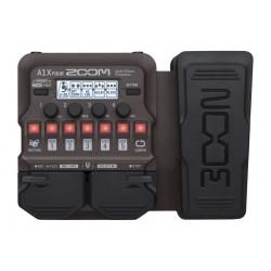 Zoom A1X FOUR multieffetto per chitarra acustica con pedale d'espressione