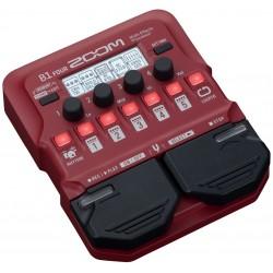 Zoom B1 FOUR pedaliera multieffetto amp-simulator per basso