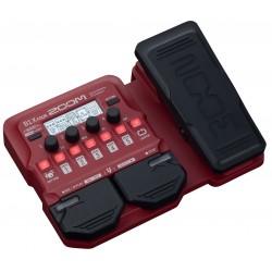Zoom B1X FOUR pedaliera multieffetto amp-simulator per basso con pedale d'espressione