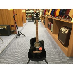 Fender FA125CE Dreadnought Black