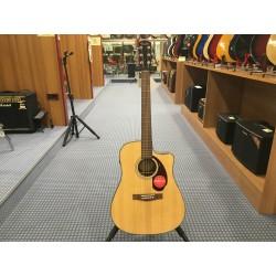 Fender CD-140SCE Dreadnought Natural w/case