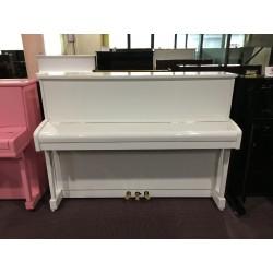 Pianoforte verticale usato bianco J.Schiller