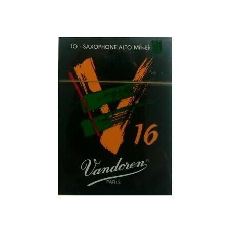 Vandoren Scatola Pz.10 Ance V16 per sax c/alto 1 e 1/2