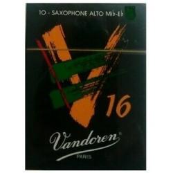 Vandoren Scatola Pz.10 Ance V16 per sax c/alto 3 e 1/2