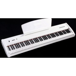 KIT W.Hausmann P50WH bianco piano digitale + supporto KS017 mi.lor  + Panca SB006 mi.lor