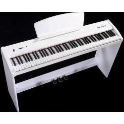 Hausmann Kit P50WH piano digitale bianco + StandP50WH bianco