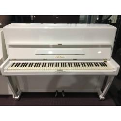 Atlas Pianoforte verticale bianco 112 usato