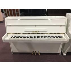 Wilhelm Pianoforte bianco usato