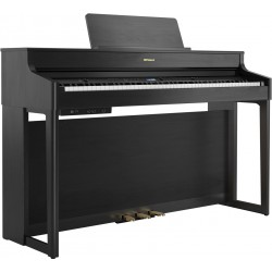 Roland HP702-CH SET Col.Charcoal Black pianoforte digitale