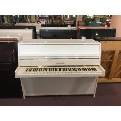 Gebr. Niendorf Pianoforte verticale bianco usato