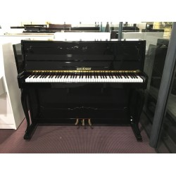 Gebr.Niendorf Pianoforte verticale usato nero