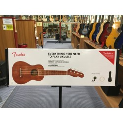 Fender Seaside Soprano Uke Pack Nat WN