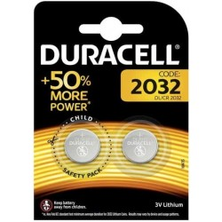 Duracell Bottone Litio 2032 Blister da Pz.2