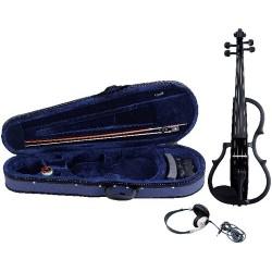 GEWA Violino elettrico color nero laccato