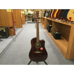 Fender CD-140SCE Dreadnought All-Mahogany w/Case