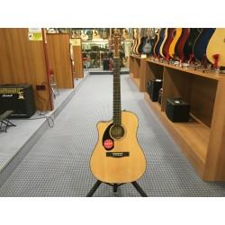 Fender CD-60SCE Left-Hand Natural