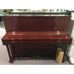 Pearl River Pianoforte verticale usato silent 118 mogano